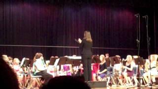 Jeni Conducts Sanger MS - Fire Dance by Douglas Akey
