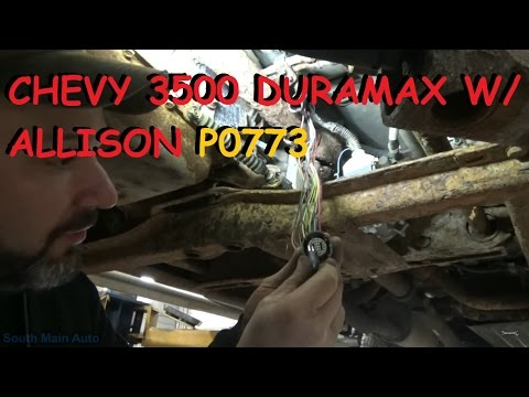 Chevy Duramax w/ Allison Automatic – Shifting Trouble P0773