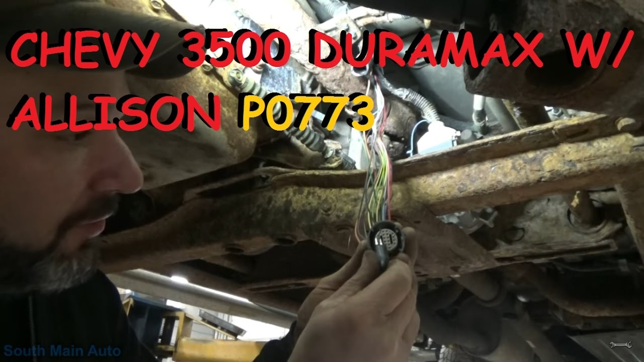 Chevy Duramax W Allison Automatic Shifting Trouble P0773 Youtube Shifter Wiring Diagram