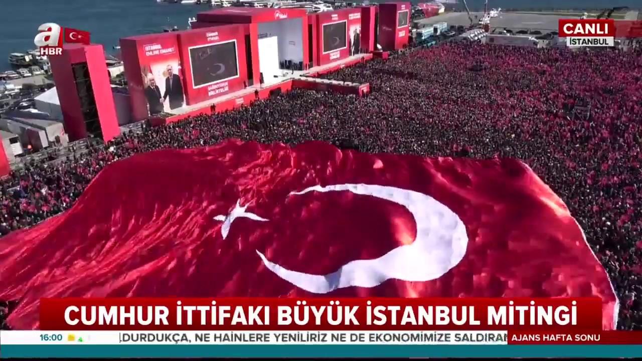 SON DAKİKA! Başkan Erdoğan, Yenikapı mitingine katılım rakamını açıkladı