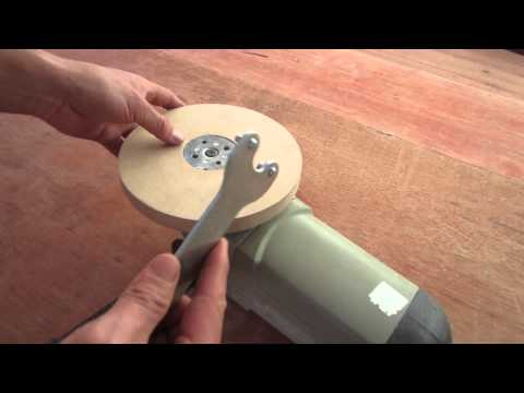 Convert grinder sander polishing wood youtube - Como pulir madera ...