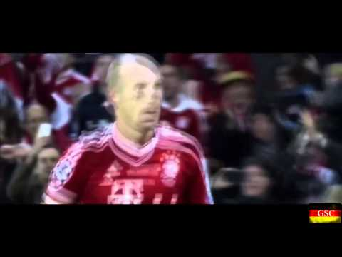 Arjen Robben Goal: Bayern Munich vs Borussia Dortmund