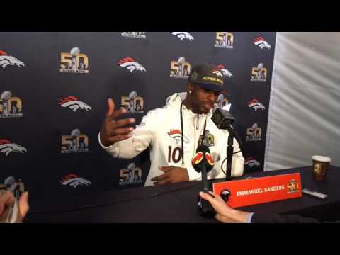 Emmanuel Sanders on lessons learned from Peyton Manning