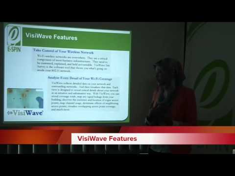 VisiWave Wireless Site Survey Product Overview by E-SPIN