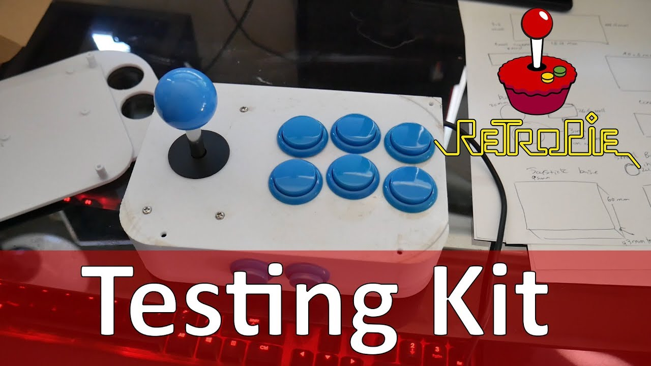Tutorial How to Test Out Arcade Joystick & Buttons For RetroPie