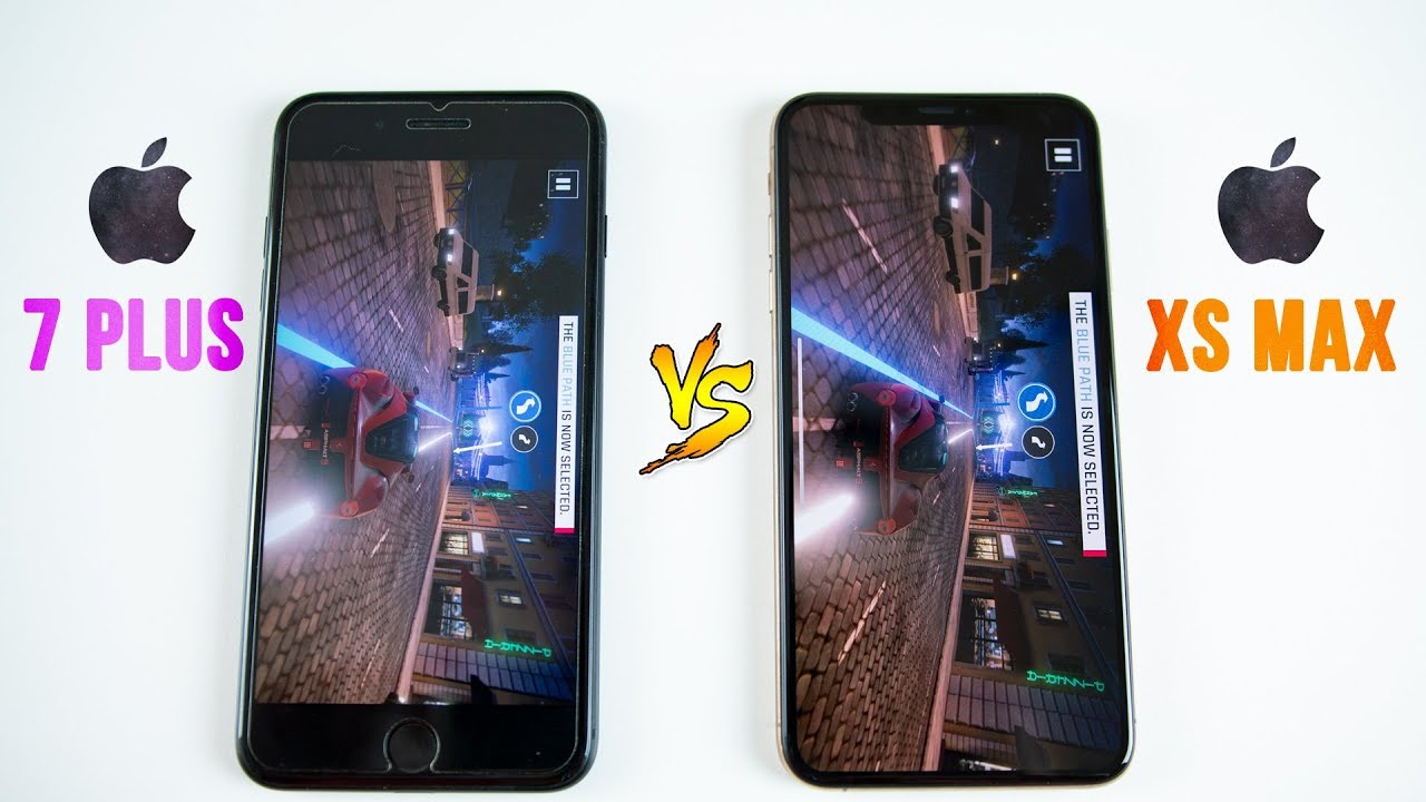 Iphone Xs Max Vs Iphone 7 Plus Speed Test Think Twice Before Upgrading