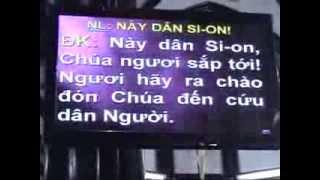 NÀY DÂN SION - CA NHẬP LỄ CN II VỌNG A