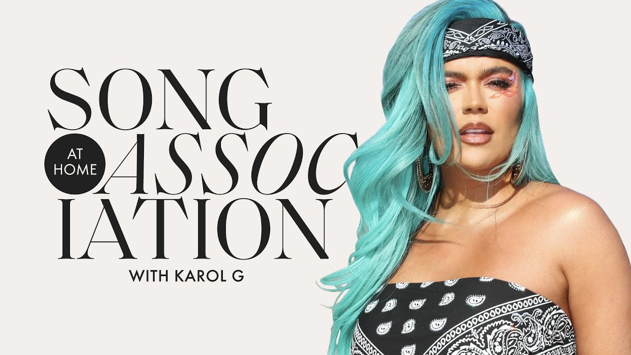 "KAROL G Sings Daddy Yankee, P!nk, and ""LOCATION"" in a Game of Song Association"