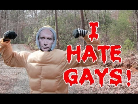 why does russia hate gays