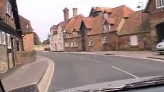 New Forest, Hampshire, England, The drive from Hachet Pond to  Beaulieu  ( 2 )