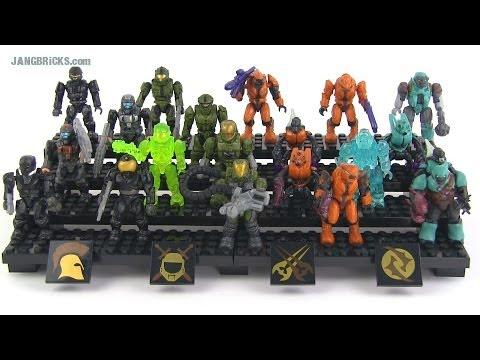 Mega Bloks Halo Ultimate Combat Pack 97233 Reviewed Youtube