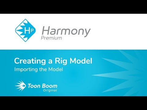 How to Import the Model with Harmony Premium