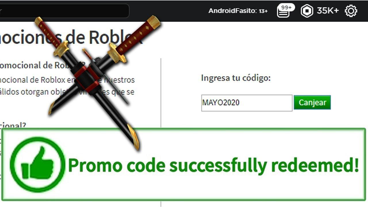 Nuevo Promocode De Roblox 2020 Octubre Salio Nuevo Promocodes Mayo Para Roblox 2020 Youtube