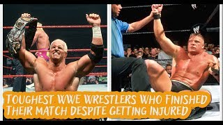 18 Toughest WWE Wrestlers Who Finished Their Match Despite Getting Injured