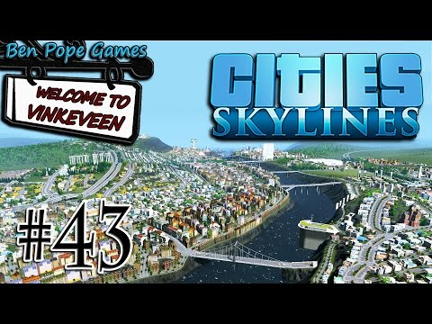 Cities: Skylines - (European Themed City) - #43 Agent Limit Reached?