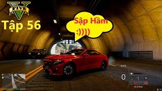 GTA 5 Siêu Xe #56 Mec S63 AMG Chạy Max Speed Đụng ''Sập Hầm'' Và Cái Kết Thốn