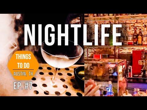 7 BEST Bars In Austin Texas (Shhh, They're A Secret!) | ATX Nightlife 2019 🤐