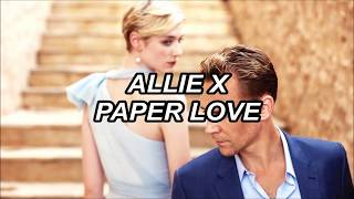Allie X - Paper Love - Lyrics