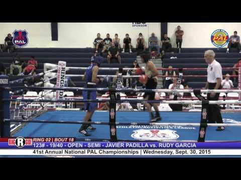 41st Nat. PAL Boxing Tournament | JAVIER PADILLA vs. RUDY GARCIA
