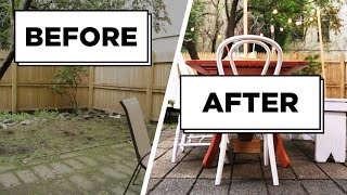 How To Makeover Your Weathered Backyard