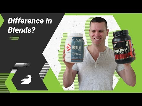ON Whey Protein vs Dymatize ISO 100