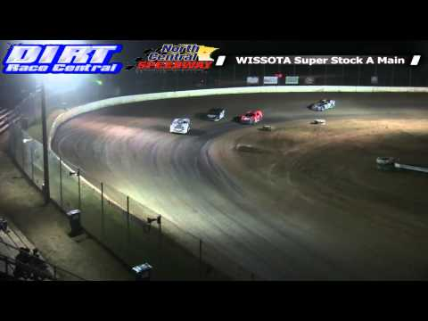 North Central Speedway 8 9 14 WISSOTA Super Stock Races