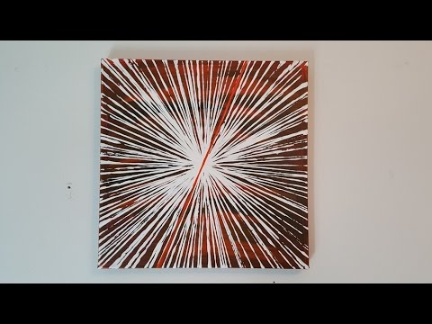 Abstract Painting Art Demo Life Lines 7 Embrace The Matrix
