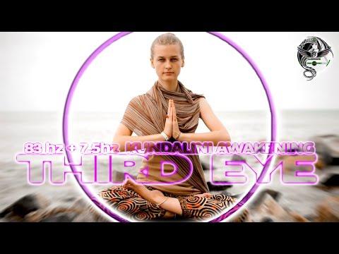 THIRD EYE + KUNDALINI AWAKENING (83hz + 7.5hz) Frequencies Vibration