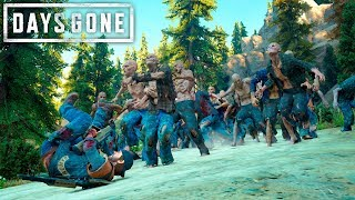 Days Gone - The Other Best Horde Loudout  Days Gone Free Roam Gameplay 32