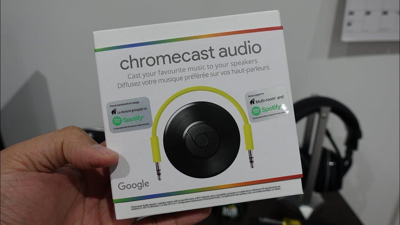 Google Chromecast Audio Unboxing