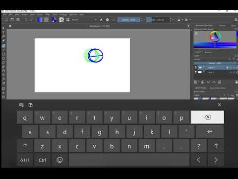 Animation in Krita 4.1.7- The Basics