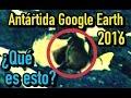 ¿Qué han detectado los satélites de Google Earth en la Antártida?