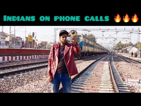 Indians On Phone Calls    Comedy Video    Yogesh Kathuria