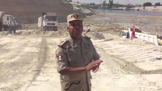 قناة السويس الجديدة : اللواء كامل الوزير يرد على أكاذيب الاخوان ضد مشروع القناة