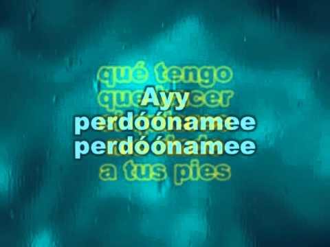 Gilberto Santa Rosa Perdoname Karaoke