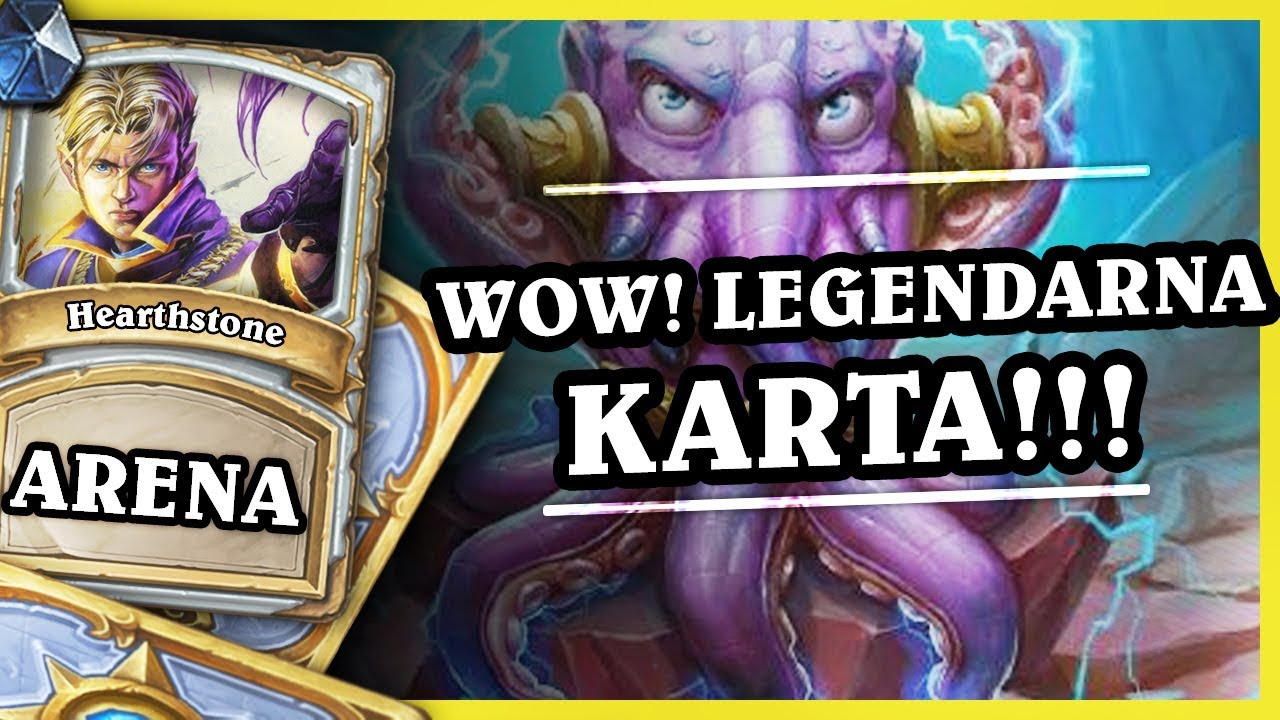 WOW! LEGENDARNA KARTA!! – PRIEST – Hearthstone Arena