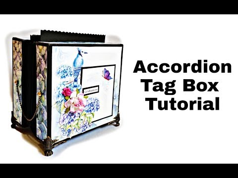 Accordion Tag Box Tutorial | DIY Gift Idea | Tag Box Album thumbnail