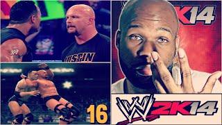 WWE 2K14 30 Years of Wrestlemania Part 16 - WrestleMania X-Seven: The Rock vs. Steve Austin