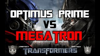 Transformers The Game - Optimus Prime vs  Megatron