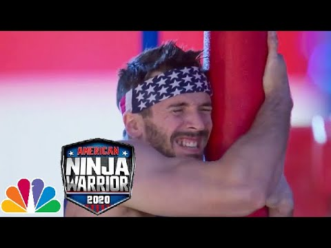 Drew Drechsel Stage 3 Run | American Ninja Warrior: USA Vs The World (2020)