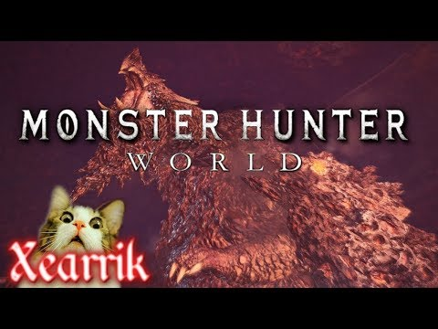 Monster Hunter World | Beating Arch Tempered Zorah Magdaros | Live Stream