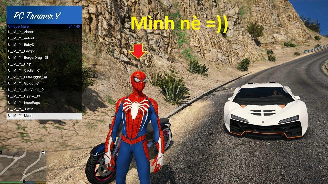 GTA 5 Mod – Người Nhện Nổi Loạn (Spider-man is crazy)