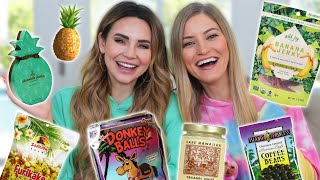 TRYING FUN HAWAIIAN TREATS w/ iJustine!