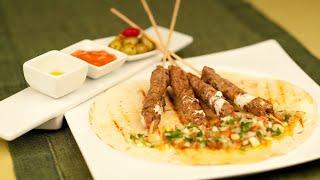 Przepis - Kofta Kebab Z Sałatką Fatush (przepisy Kulinarne Przepisy.pl)