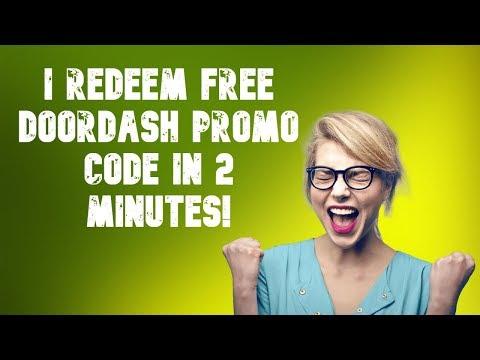 Free DoorDash Promo Codes – Free DoorDash Food 2019