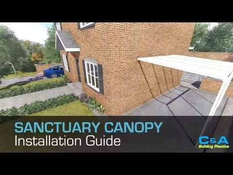 How to build a carport with the Sanctuary Canopy system