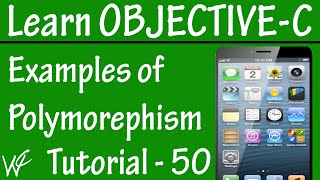 Free Objective C Programming Tutorial for Beginners 50 - Polymorephism in Objective C