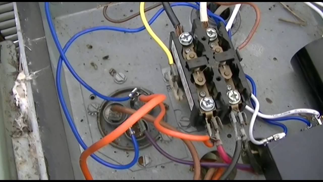 hard start capacitor wiring diagram conventional fire alarm control panel kickstart t05 ks1 central a c kit installation youtube