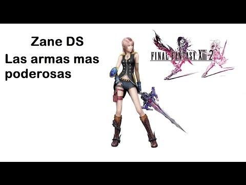 Final Fantasy XIII 2 Armas poderosas