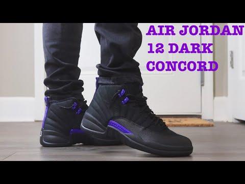 """AIR JORDAN 12 """"DARK CONCORD"""
